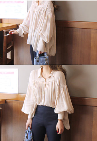 Ariana shirring blouse[단독주문시 당일출고]